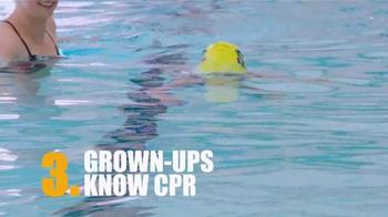 Pool Safely TV Spot, 'Swim Lessons' Featuring Katie Ledecky - Thumbnail 8
