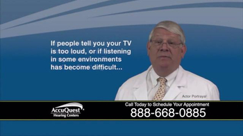 AccuQuest Hearing Centers TV Spot, 'The 30-Day Challenge'