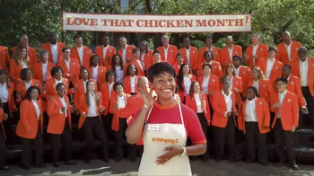 Popeyes Love That Chicken Month TV Spot, 'Singing'