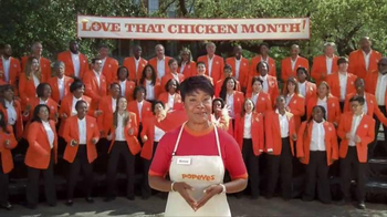 Popeyes Love That Chicken Month TV Spot, 'Singing' - Thumbnail 4