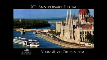 Viking River Cruises 20th Anniversary Special TV Spot, '2017 Sailings'