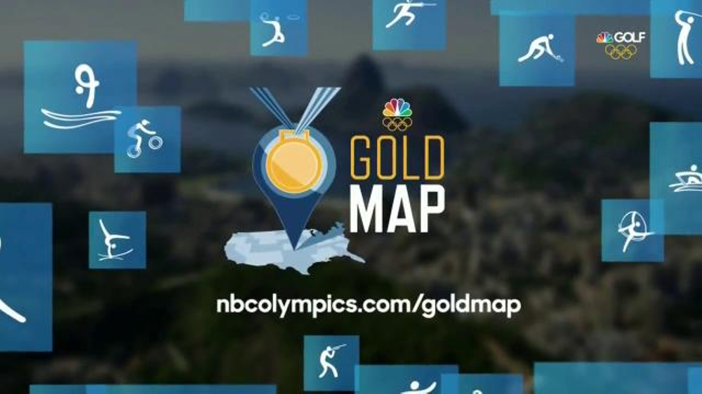 Nbc Gold Map NBC Gold Map TV Commercial, 'Find Your Path: Golf'   iSpot.tv Nbc Gold Map