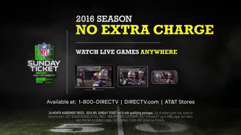 DIRECTV  NFL Sunday Ticket TV Spot, 'DIRECTV You' Featuring Tony Romo - Thumbnail 8