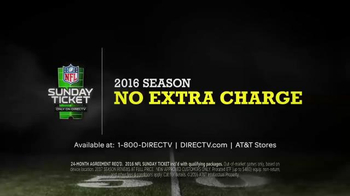 DIRECTV  NFL Sunday Ticket TV Spot, 'DIRECTV You' Featuring Tony Romo - Thumbnail 7