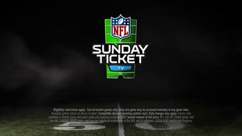 DIRECTV NFL Sunday Ticket TV Spot, 'Now You Can' Ft. Andrew Luck, Tony Romo - Thumbnail 10