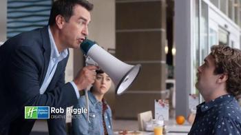 Holiday Inn Express TV Spot, 'Bullhorn' Featuring Rob Riggle - Thumbnail 4