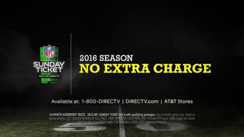 DIRECTV NFL Sunday Ticket TV Spot, 'DIRECTV You' Featuring Andrew Luck - Thumbnail 8