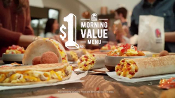 Taco Bell $1 Morning Value Menu TV Spot, 'This' - Thumbnail 10