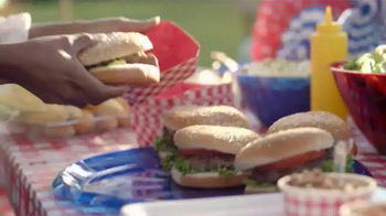Party City TV Spot, 'Red, White & Bland BBQ' - Thumbnail 8