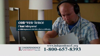 Independence University TV Spot, 'The Most Powerful Weapon' - Thumbnail 5
