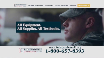 Independence University TV Spot, 'The Most Powerful Weapon' - Thumbnail 7