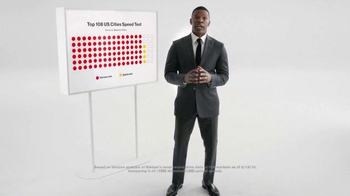 Verizon TV Spot, 'Speed Test' Featuring Jamie Foxx - Thumbnail 1