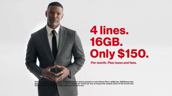 Verizon TV Spot, 'Speed Test' Featuring Jamie Foxx - Thumbnail 10