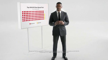 Verizon TV Spot, 'Speed Test' Featuring Jamie Foxx - Thumbnail 2