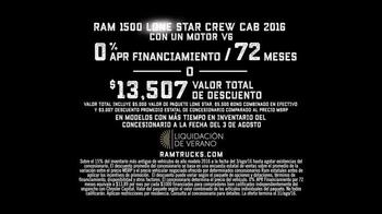 Ram Trucks Liquidación de Verano TV Spot, 'Texas Lone Star' [Spanish] - Thumbnail 8