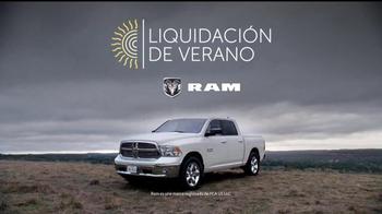 Ram Trucks Liquidación de Verano TV Spot, 'Texas Lone Star' [Spanish] - Thumbnail 7