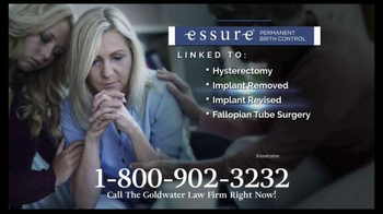 Goldwater Law Firm TV Spot, 'Essure'