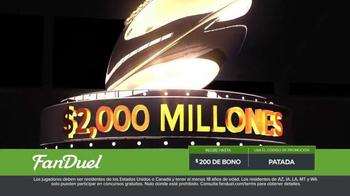 FanDuel.com Ligas de Una Semana TV Spot, 'Recompensas grandes' [Spanish] - Thumbnail 6