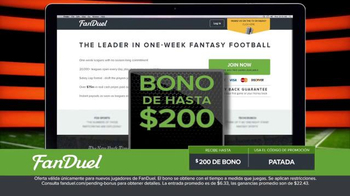 FanDuel.com Ligas de Una Semana TV Spot, 'Recompensas grandes' [Spanish] - Thumbnail 8
