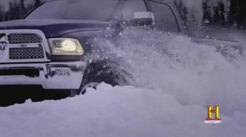 Ram Trucks TV Spot, 'History Channel: Alaska' - Thumbnail 4