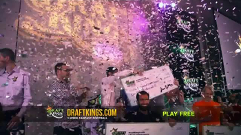 DraftKings Fantasy Football TV Spot, 'Giant Check' - Thumbnail 4