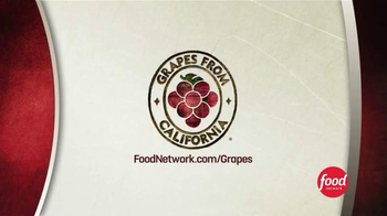 Grapes From California TV Spot, 'Food Network: Family Dinner' - Thumbnail 7