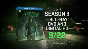 Arrow: The Complete Third Season Blu-ray and DVD TV Spot