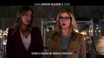Arrow: The Complete Third Season Blu-ray and DVD TV Spot - Thumbnail 7