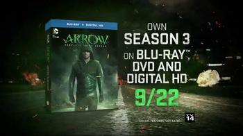 Arrow: The Complete Third Season Blu-ray and DVD TV Spot - Thumbnail 8