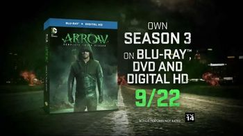 Arrow: The Complete Third Season Blu-ray and DVD TV Spot