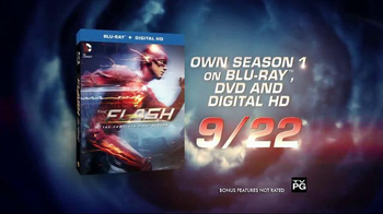 The Flash: The Complete First Season Blu-ray and DVD TV Spot