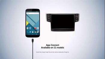 Volkswagen App-Connect TV Spot, 'Party' Featuring Adam Scott, Michael Peña - Thumbnail 6