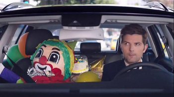 Volkswagen App-Connect TV Spot, 'Party' Featuring Adam Scott, Michael Peña - 1083 commercial airings