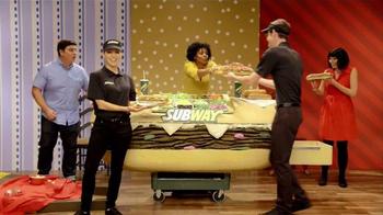 Subway TV Spot, 'Adult Swim: Sad Lunch Llamas' - Thumbnail 7