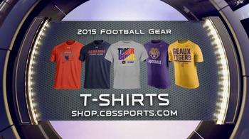 CBSSports.com/Shop TV Spot, 'College Football Gear'