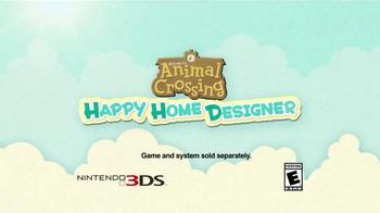 Animal Crossing: Happy Home Designer TV Spot, 'Interior Designing' - Thumbnail 8