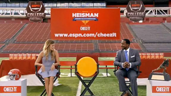 Cheez-It TV Spot, 'Superhero' Featuring Desmond Howard - 54 commercial airings