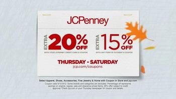 JCPenney Fall Big Bonus Sale TV Spot, 'Hello Fall' - Thumbnail 7
