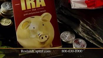 Rosland Capital Gold and Silver IRAs TV Spot, 'Wet Scorecards' - Thumbnail 4