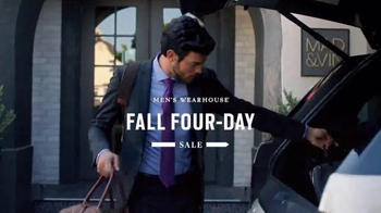 Men's Wearhouse Fall Four-Day Sale TV Spot, 'BOGO and Clearance' - Thumbnail 1