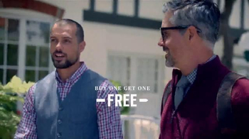 Men's Wearhouse Fall Four-Day Sale TV Spot, 'BOGO and Clearance' - Thumbnail 3