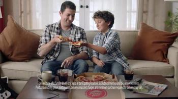 VISA Checkout TV Spot, 'Sunday Deal From Visa Checkout & Pizza Hut' - Thumbnail 7