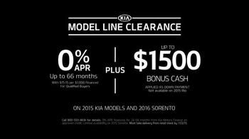 Kia Model Line Clearance Sale TV Spot, '2015 Deals' - Thumbnail 4