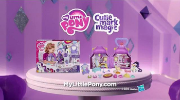 My Little Pony Cutie Mark Magic Rarity Booktique Playset TV Spot, 'Library' - Thumbnail 8