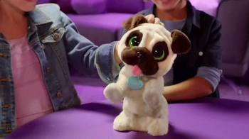 FurReal Friends J.J. My Jumpin' Pug TV Spot, 'Loves to Play' - 1582 commercial airings