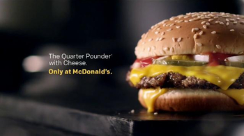 McDonald's Quarter Pounder TV Spot, 'Wedding Night' Song by Telekinesis - Thumbnail 7