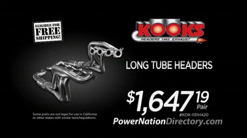 PowerNation Directory TV Spot, 'Intakes, Headers and Kits' - Thumbnail 4