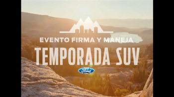 Ford Evento Firma y Maneja TV Spot, 'Temporada SUV' [Spanish] - Thumbnail 2