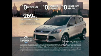 Ford Evento Firma y Maneja TV Spot, 'Temporada SUV' [Spanish] - Thumbnail 8