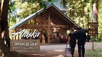 Alaska Airlines TV Spot, 'Woodcarving' Featuring Russell Wilson - Thumbnail 1